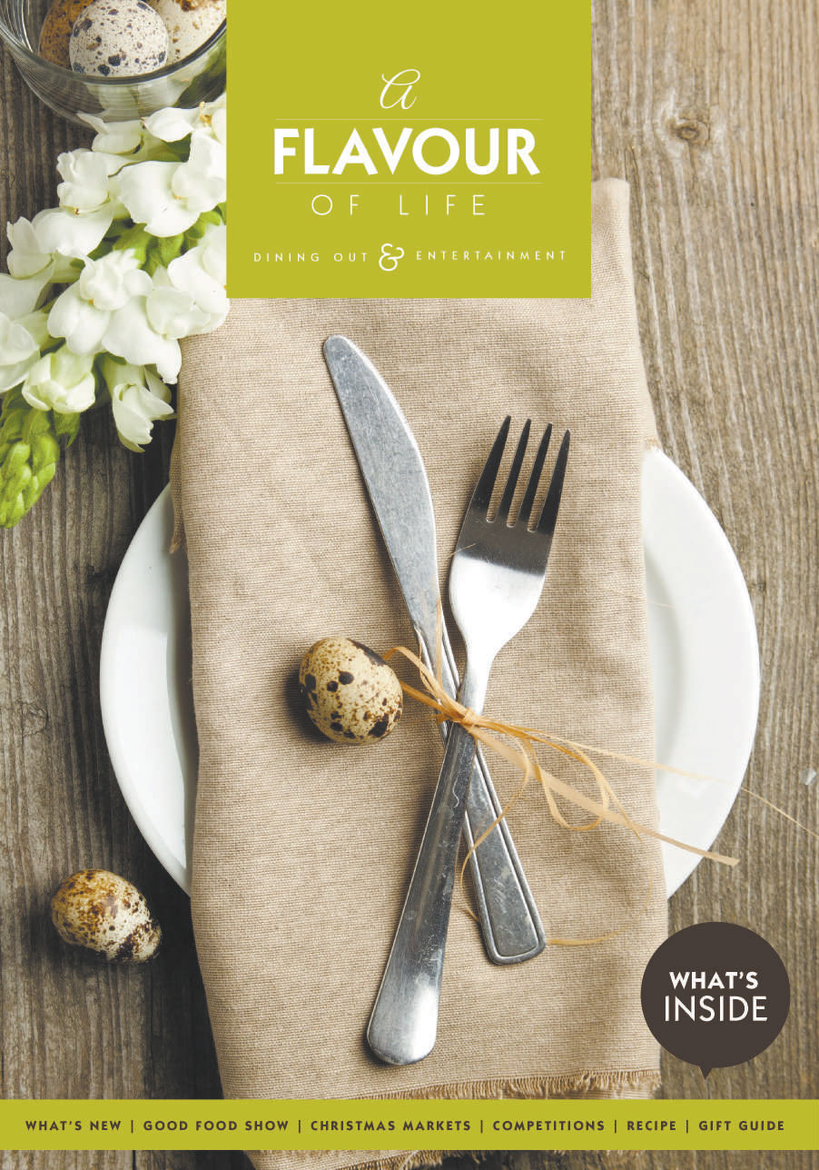 A flavour of life front cover